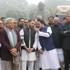 Rahul Gandhi was at the front of protests to mark a month of demonetisation, but he's not yet on top
