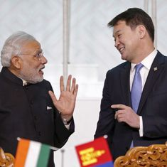 Chinese media warns Mongolia against seeking financial aid from India