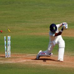 Day 2 in Mumbai provided an intriguing contrast: 'lucky' English batsmen and 'better' Indian bowlers