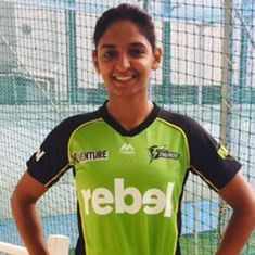 Watch: Harmanpreet Kaur wows Adam Gilchrist in her Big Bash League debut with this six