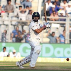 Virat Kohli double ton, Jayant Yadav bat England out of the game at lunch on Day four