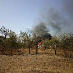 Mumbai: One dead, three injured after helicopter crashes in Goregaon East suburb