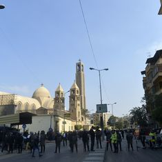 Egypt: At least 25 killed in blast at main Coptic Christian cathedral in Cairo