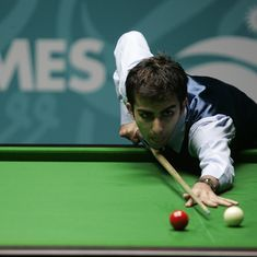 Pankaj Advani storms into round of 16 at World Snooker Championships