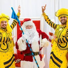 Watch: This video of Santa Claus doing bhangra could be all you want for Christmas