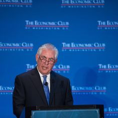 Donald Trump selects Exxon CEO Rex Tillerson as his secretary of state