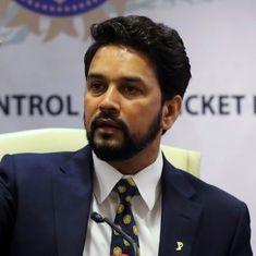'भारतीय क्रिकेट रिटायर्ड जजों के नेतृत्व में अच्छा प्रदर्शन करेगा' : अनुराग ठाकुर
