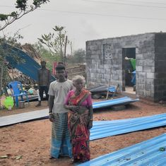 One day after inauguration of homes for tribals in Tamil Nadu, cyclone Vardah rips them apart