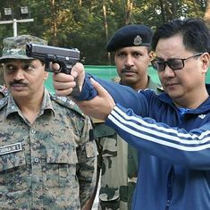 Watch: Amidst furore over comments against Gurmehar Kaur, Kiren Rijiju cites soldier's lament