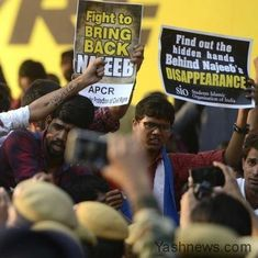 Missing JNU student case: CBI offers Rs 10 lakh reward for information on his whereabouts