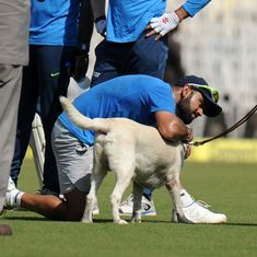 In photos: A day before the 5th Test, India and England trained at a cyclone-hit Chepauk Stadium