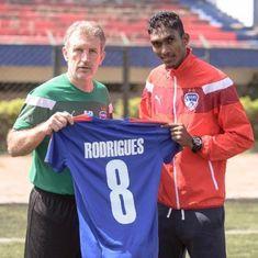 Bengaluru FC sign FC Pune City midfielder Lenny Rodrigues on loan