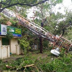 With power, phone and internet services affected, Chennai is still recovering from Cyclone Vardah
