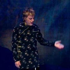 Watch: Comic Eddie Izzard offers an unreliable explanation of the origin of the Heimlich manoeuvre