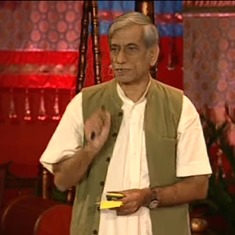 Watch conservationist Anupam Mishra (1948-2016) on the ingenuity of old water harvesting techniques