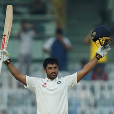 Duleep Trophy: After 99 in first innings, Karun Nair hits 166 as India Red draw with India Blue