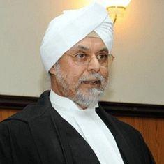 जगदीश सिंह खेहर देश के 44वें मुख्य न्यायाधीश बने