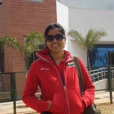 Kuheli Gangulee wins gold in the Women's 50m Rifle Prone event at Shooting Nationals