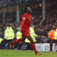 Watch the goal that helped Liverpool only just get the better of Everton in the Merseyside derby