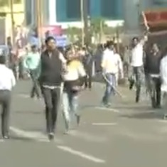 Watch: Hoodlums take over the streets of Bhubaneswar after political clash over a bandh call