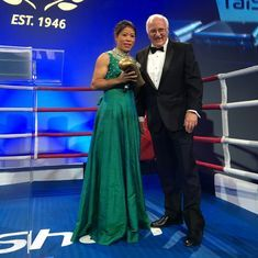Mary Kom, Vikas Krishan receive awards at AIBA's 70th anniversary gala