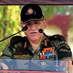 Army chief says curbs on social media in Jammu and Kashmir are necessary to control militancy
