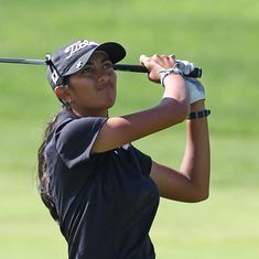 Golf: Aditi Ashok makes the cut at Women's British Open for the first time