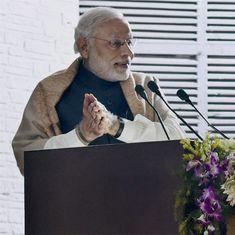 'No chance of an earthquake': Narendra Modi takes on Rahul Gandhi in Varanasi speech