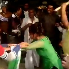 BSP says UP under 'gundaraj' after men caught on camera thrashing woman for resisting molestation