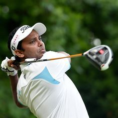 India's SSP Chawrasia jumps 19 places to be tied-29th at WGC-HSBC Champions