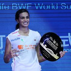 'This is just the start for me,' says PV Sindhu, about her breakthrough 2016 season