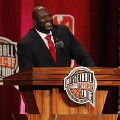Watch: Miami Heat retire NBA legend Shaquille O'Neal's No. 32 jersey
