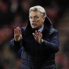 "David Moyes tells BBC reporter to be careful or she ""might get a slap"""