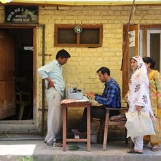 The QWERTY clatter from the street-typists of India has not yet been drowned by digital documents