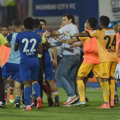 Mumbai City players handed suspension, fine for semi-final fracas against Atletico de Kolkata