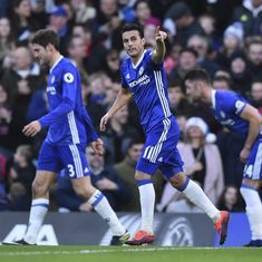 Premier League: Chelsea beat Bournemouth to extend lead at top of the table