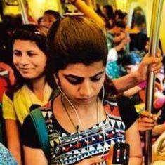 दिल्ली मेट्रो में महिलाओं को चाकू रखने की इजाजत पर सवाल