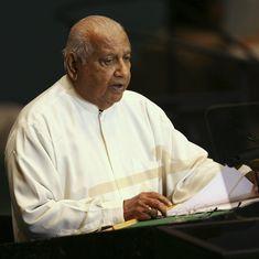 Former Sri Lankan prime minister Ratnasiri Wickremanayake dies