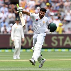 The cricket wrap: Azhar Ali smashes 205* to help Pakistan declare at 443/9, and other top stories