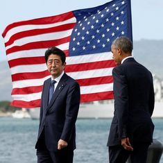 Shinzo Abe offers condolences at Pearl Harbor, says Japan will 'never repeat the horrors of war'