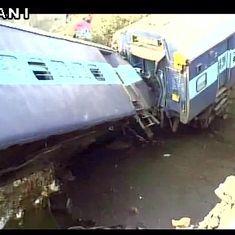 सियालदह-अजमेर एक्सप्रेस कानपुर के नजदीक पटरी से उतरी, दो यात्रियों की मौत, 43 घायल
