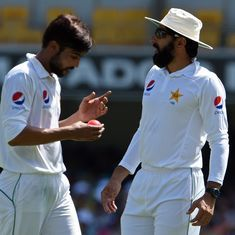Watch: Pakistan captain Misbah-ul-Haq goes for (possibly) the worst DRS review ever