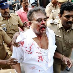 Chennai: Sasikala Pushpa's husband attacked by AIADMK workers outside party headquarters