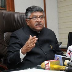 Centre mulling over linking driving licence with Aadhaar, says Union minister Ravi Shankar Prasad