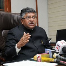 India's poor are not complaining about Aadhaar, Union Minister Ravi Shankar Prasad tells CNBC-TV18