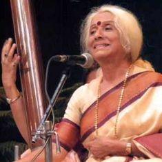 Listen: Prabha Atre sings a quicksilver tarana