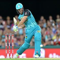 Watch: Chris Lynn effortlessly smashes a 121-metre six – possibly one of the longest hits ever