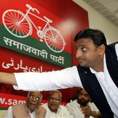 For party and symbol: The Mulayam-Akhilesh fight to ride the bicycle has many parallels down south