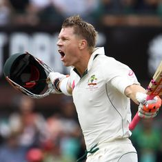 The cricket wrap: David Warner smashes ton in opening session of 3rd Test, and other top stories