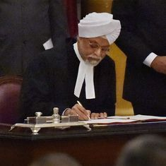 Jagdish Singh Khehar sworn in as 44th chief justice of India